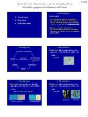Bệnh cây đại cương - Chu kì bệnh, dịch bệnh, chuẩn đoán