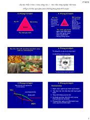 Bệnh cây đại cương - Phòng trừ bệnh
