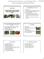 Cây ăn quả - Chương 4: Vườn ươm và các phương pháp nhân giống cây ăn quả