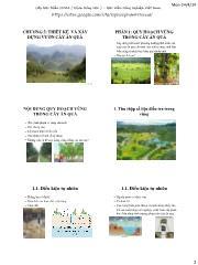 Cây ăn quả - Chương 5: Thiết kế và xây dựng vườn cây ăn quả