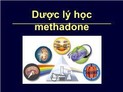 Dược lý học methadone
