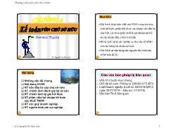 Kế toán, kiểm toán - Chương 6: Kế toán vốn chủ sở hữu