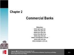 Tài chính doanh nghiệp - Chapter 2: Commercial banks
