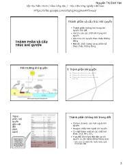 Thành phần và cấu trúc khí quyển