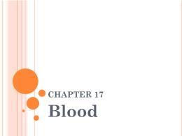 Y khoa, y dược - Chapter 17: Blood