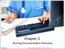 Y khoa, y dược - Chapter 2: Nursing documentation overview