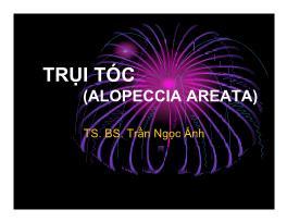 Y khoa, y dược - Trụi tóc (alopeccia areata)
