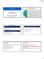 Bài giảng Kỹ năng mềm - Xây dựng mục tiêu - Huỳnh Hạnh Phúc