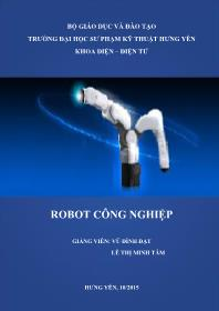 Bài giảng Robot công nghiệp - Vũ Đình Đạt