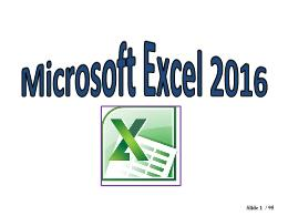 Bài giảng Microsoft Excel 2016