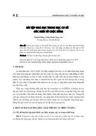 Bài tập hoá học Trung học Cơ sở – Góc nhìn từ cuộc sống - Nguyễn Hồng Chiến