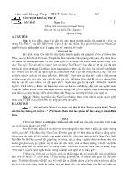 Chuyên đề: Văn xuôi kháng Pháp - Vấn đề 1: Đôi mắt (Nam Cao)