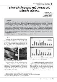 Đánh giá lắng đọng khô cho khu vực miền Bắc Việt Nam - Đàm Duy Ân