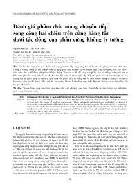 Đánh giá phẩm chất mạng chuyển tiếp song công hai chiều trên cùng băng tần dưới tác động của phần cứng không lý tưởng - Nguyễn Bá Cao