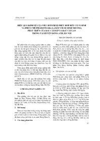 Hiệu quả kinh tế của việc bón phân phức hợp hữu cơ vi sinh và phun chế phẩm Fito-Ra lá đối với sự sinh tr-ởng, phát triển của rau cải bắp và rau cải làn trồng tại huyện Đông Anh, Hà Nội - Nguyễn Thị Yến