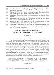 Nghiên cứu sự thay đổi mức sinh và tỉ số giới tính khi sinh của dân số tỉnh Thanh Hóa giai đoạn 1999 - 2013 - Nguyễn Thị Dung