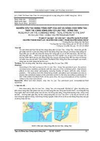 Nghiên cứu tác động tổng hợp của gió và dòng chảy đến tàu thủy tại cảng xăng dầu Cù Lao Tào - Vũng Tàu - Phạm Kỳ Quang