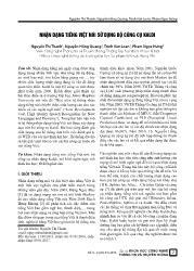 Nhận dạng tiếng Việt nói sử dụng bộ công cụ Kaldi - Nguyễn Thị Thanh