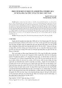 Phân tích một số nhân tố ảnh hƣởng tới hiệu quả sử dụng Oda tại tiểu vùng Tây Bắc, Việt Nam - Nguyễn Thị Lan Anh