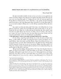 Sính lễ trong hôn nhân của người Mnông Gar ở Lâm Đồng - Phạm Thanh Thôi